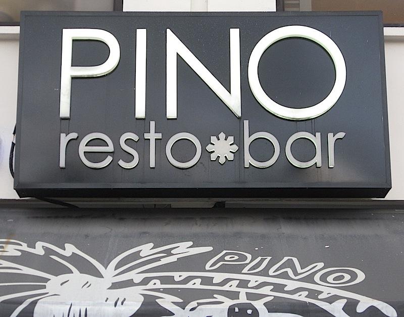 sign of Pino Resto-Bar