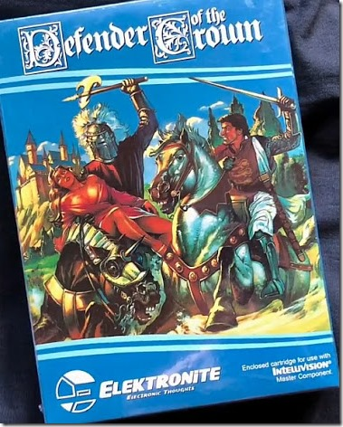 defenderofthecrown intellivision