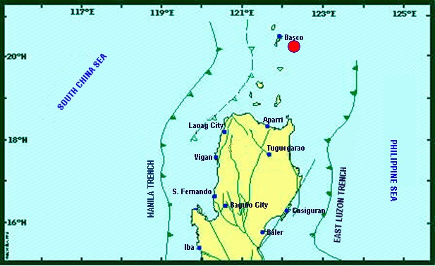 Batanes earthquake