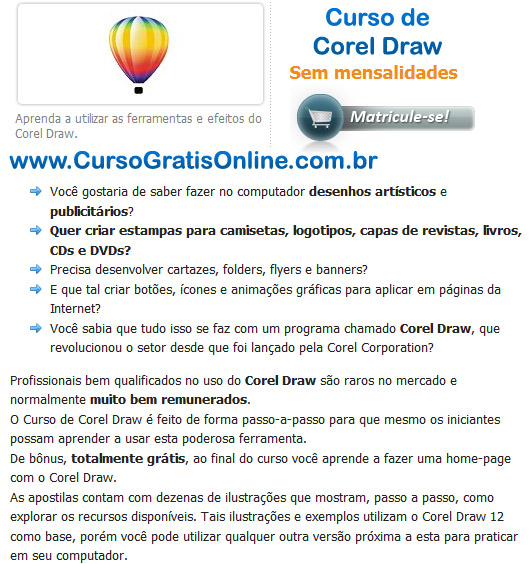 Curso de Corel Draw