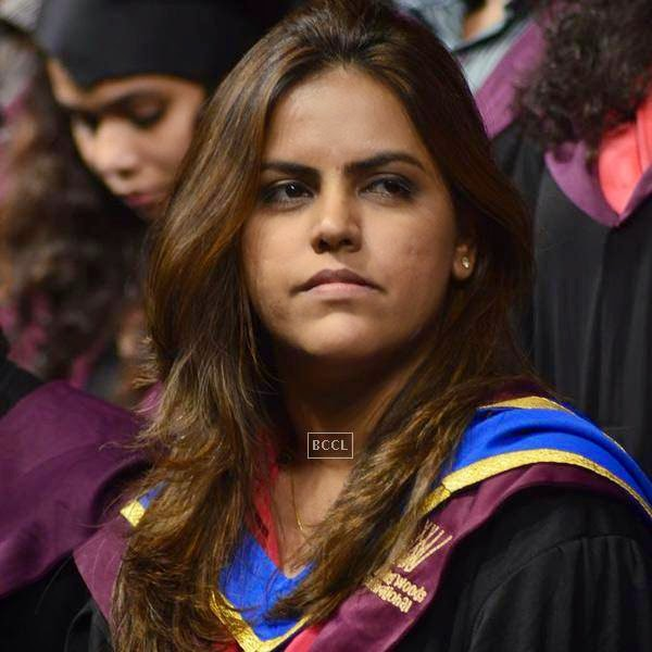 Meghana Ghai Puri during Whistling Woods International's 7th Annual convocation in Mumbai. (Pic: Viral Bhayani)