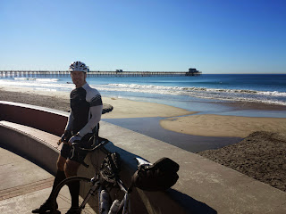 Day 2. Relatively easy, flat day along the coast.