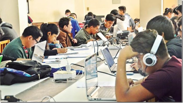 En Bolivia, 26,9% alcanza el nivel de estudios superiores