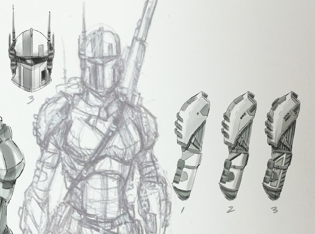 Sci Fi Drawings Art
