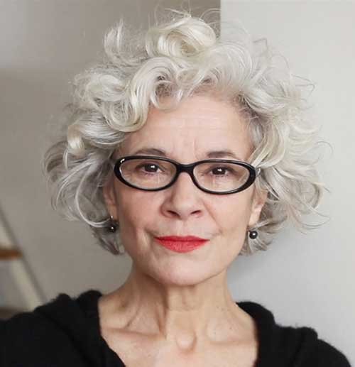 Groovy Best Hairstyles For Curly Grey Hair Hairstyle Pictures Hairstyle Inspiration Daily Dogsangcom