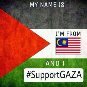 gambar i'm support GAZA