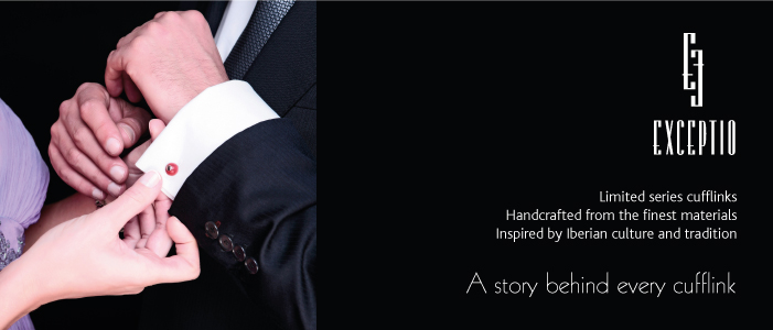 Exceptio luxury cufflinks