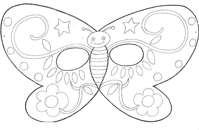 Mascaras de mariposas - Imagui