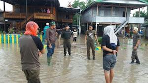 Dandim 1423 Instruksikan Semua Anggota Bantu Korban Banjir