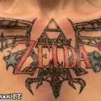 women chest - Zelda Tattoos Pictures