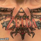 women chest - Zelda Tattoos Pictures