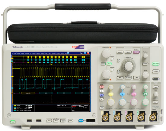 Digital Analog Oscilloscopes : Joel avrunin s effective bits of knowledge difference