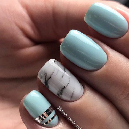 Top 40 Trendy Nail Designs For Short Nails 2018 Fashionre