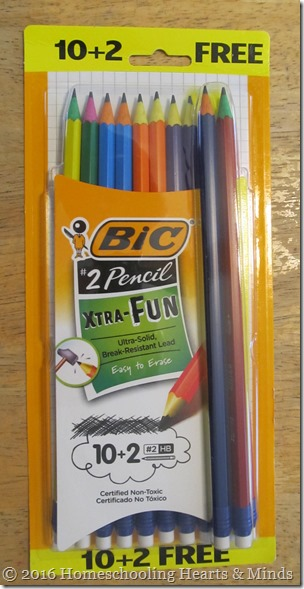 bic EXTRA-FUN pencils