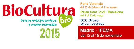 BioCultura Madrid 2015. Feria de Productos Ecológicos y Consumo Responsable