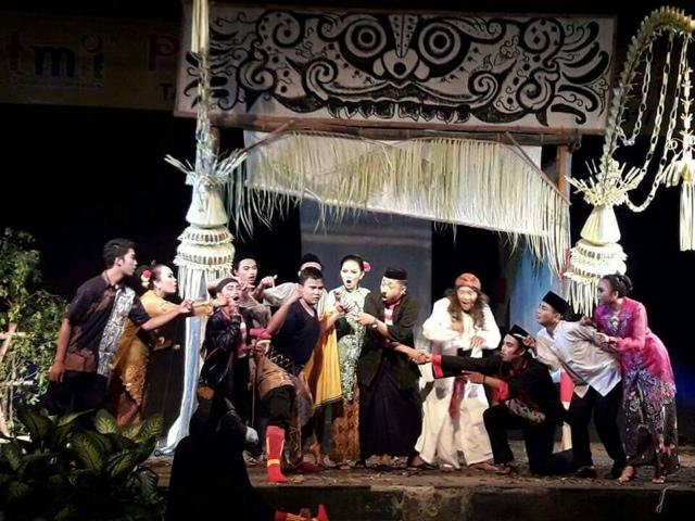 Ludruk Pelajar Kota Mojokerto Bakal Tampil di Ajang Festival Seni Tradisi Internasional di Brunai