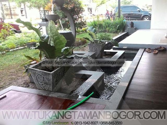 Tukang Kolam Jakarta Murah & Profesional - Kolam Minimalis Model Parit (Selokan) Minimalis