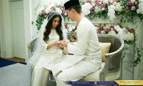 Menantu Sultan Johor lafaz nikah guna bahasa Melayu