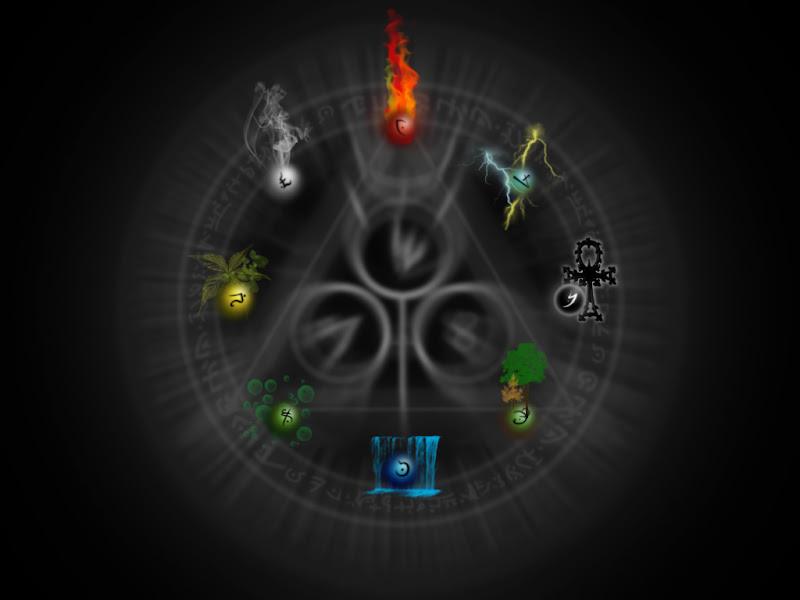 Elemental Magic, Magic Elements