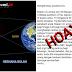 Pesan Berantai Bahaya Radiasi Gerhana Bulan Adalah Hoak