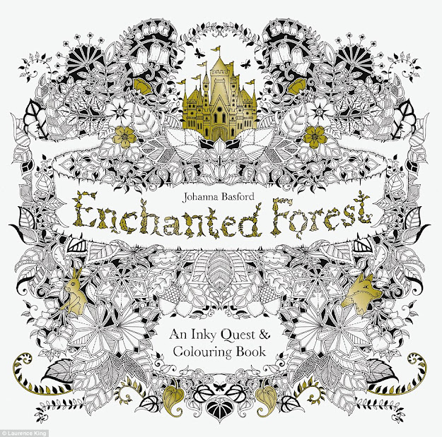 Following The Success Of Her Debut Book She Has Created Follow Up Called  Enchanted Forest