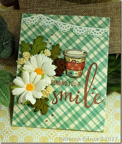 fall coffee smile card