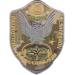 Центр радіоелектронної розвідки Південь \тк. NDU \Нарукавна емблема