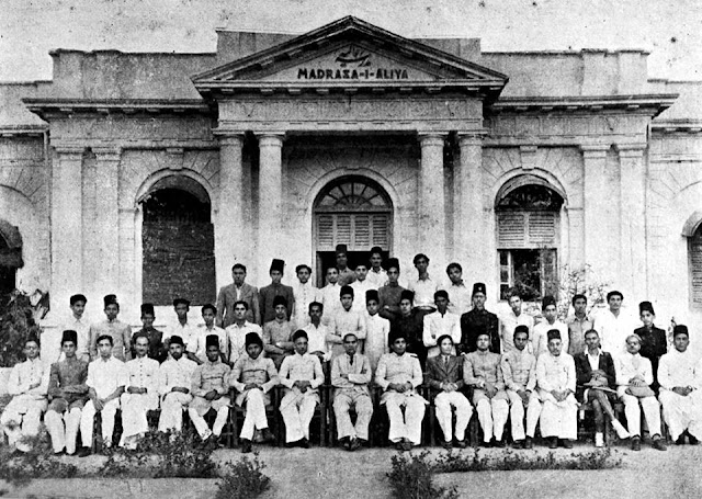 Madrasa-i Aliya (now Aliya High School for Boys) Class Photograph from the 1890s.   More on the Madrasa here: http://tinyurl.com/mialiya