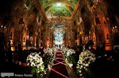 Foto 3101. Marcadores: 17/07/2010, Casamento Fabiana e Johnny, Igreja, Igreja Nossa Senhora Monte do Carmo, Rio de Janeiro