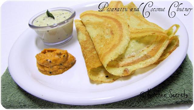 Pesarattu Recipe Food Vedam