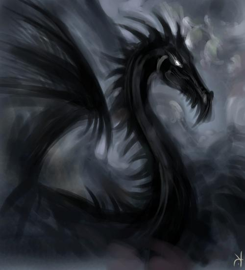 Black Dragon, Celtic And Druids