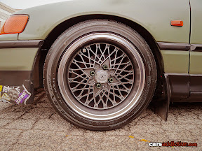 SSR Mesh wheels