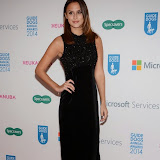WWW.ENTSIMAGES.COM -    Lucy Watson  at       Guide Dog of the Year Awards at London Hilton Park Lane London December 10th 2014Annual awards which celebrate the partnership between guide dogs and their owners.                                              Photo Mobis Photos/OIC 0203 174 1069