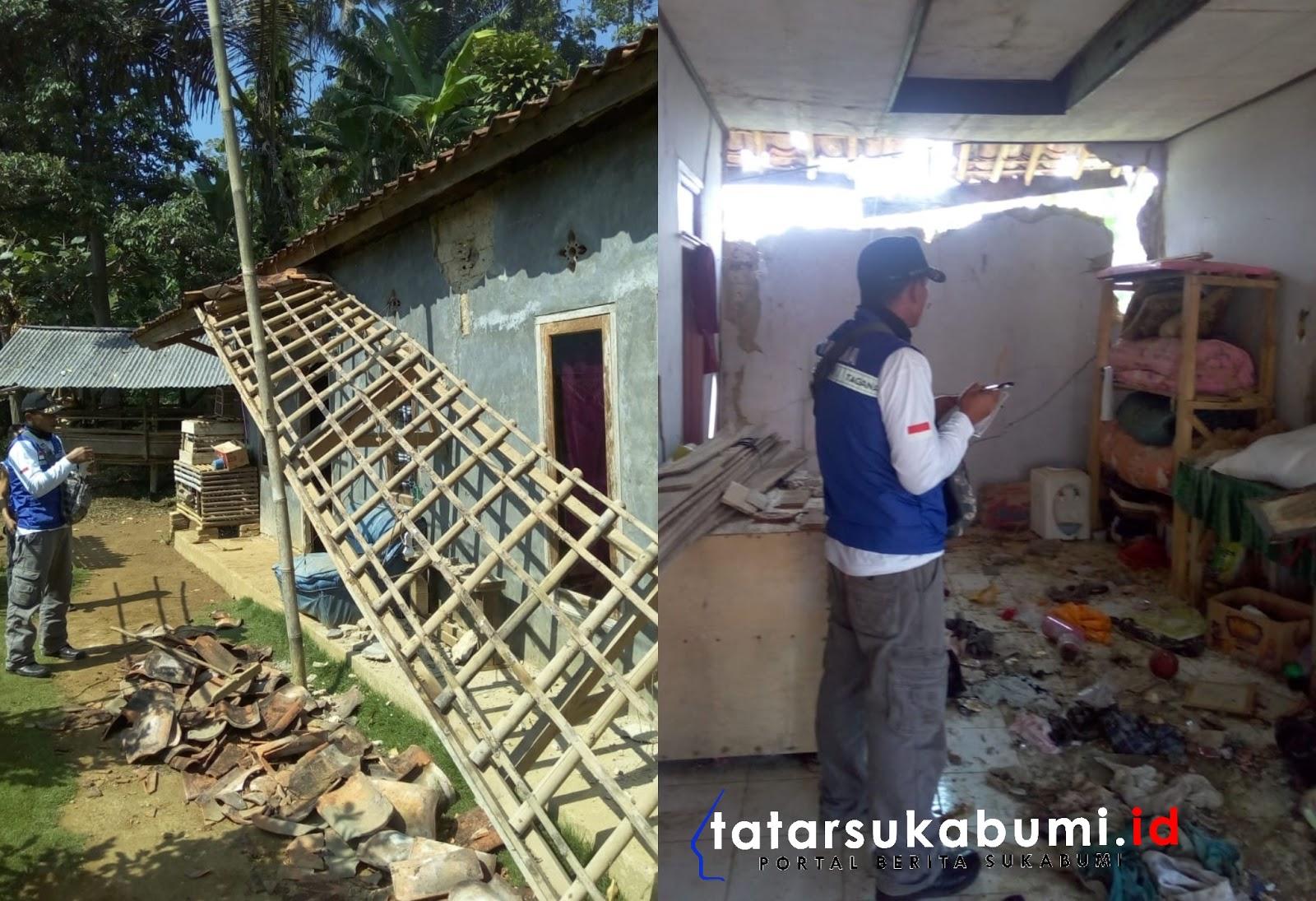 Gempa Bumi Lebak Banten Rusak 2 Rumah Warga Kecamatan Kabandungan Sukabumi