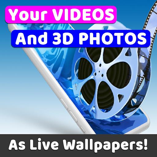 Live Wallpapers, 3D Backgrounds, Lock Screen GRUBL 1.6.6 screenshots 1