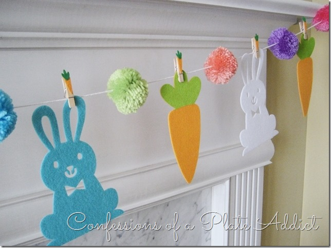 CONFESSIONS OF A PLATE ADDICT Easy Bunny and Carrot Garland3