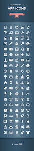 Freebie: 100 Awesome App Icons - 100 mẫu app icon miễn phí