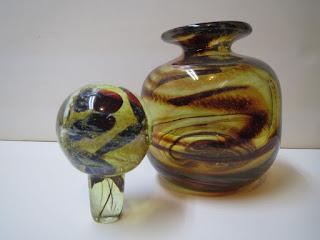 Mdina Art Glass Bottle