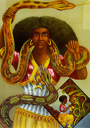 Goddess Uhamiri Image