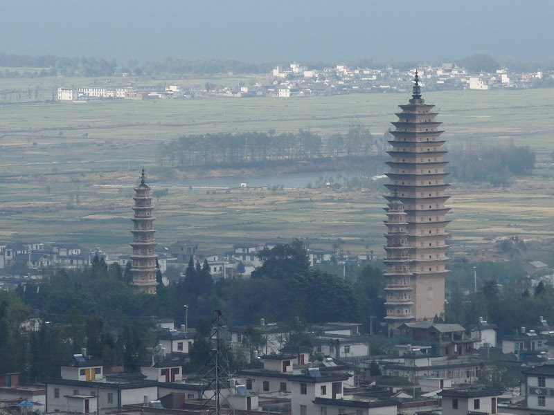 Chine .Yunnan. Dali ,petite randonnée au temple de Zhong he 3 - P1170650.JPG