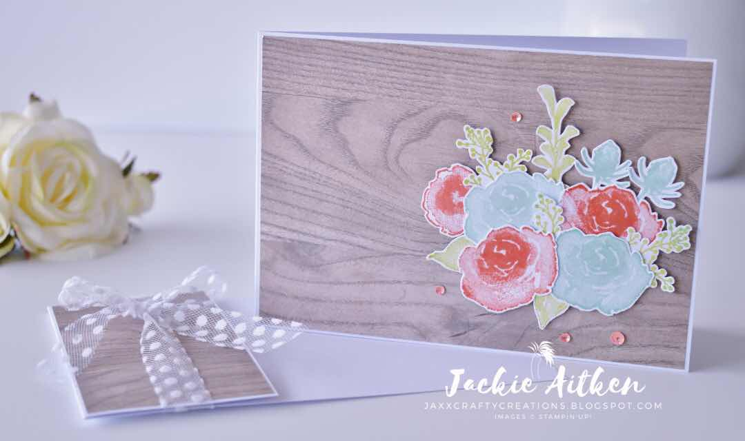 Stampin Up, First Frost Stamp Set, Wood Textures DSP, Folder Card, Just Add Ink Challenge, jaxx crafty creations