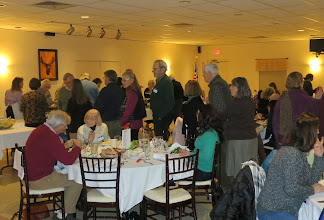 Photo: ..and here are the guests, lining up for the pasta!