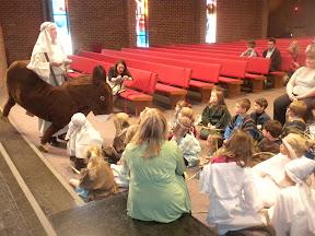 1. Jesus teaching the children