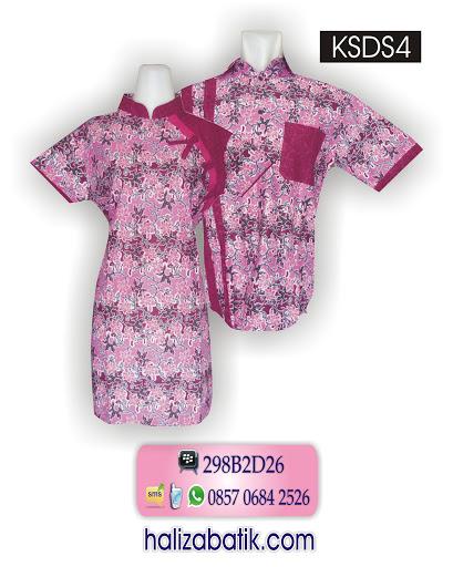gambar model baju batik, baju modern, batik murah