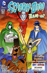 Actualización 27/01/2015: Se agrega el numero # 13 de Scooby-Doo Team-Up por Rockfull y Darkvid del Team-Up Prixcomics, Gisicom y CRG.