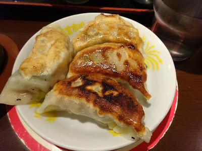 羽田名物海老入り焼き餃子