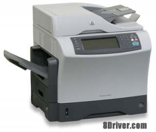 Free download HP LaserJet 4345xm Multifunction Printer driver and install