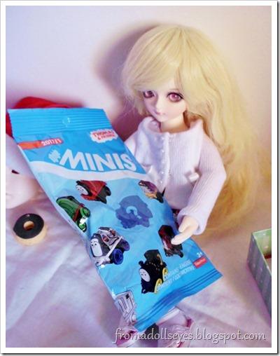 Dolls and blind bag toys. Thomas!