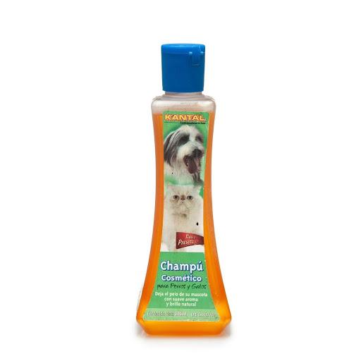 champu para mascotas kantal cosmetico 240ml
