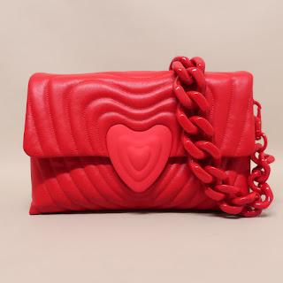 Escada + Rita Ora NEW Heart Bag